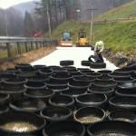 preparing tire-derived-sylinders