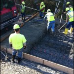 Reinforced Concrete Surface
