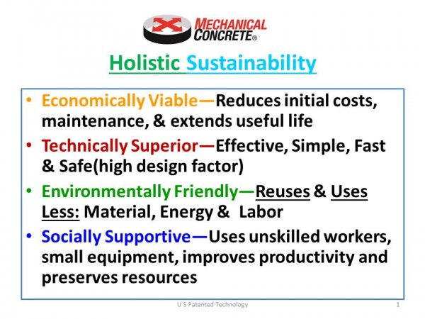 4 Dimensional Sustainability