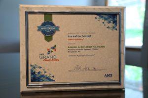 Confined Aggregate Concrete ASCE Award